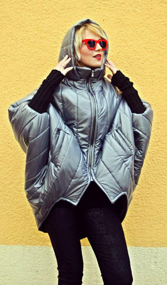 Extravagant Cocoon Jacket / Winter Short Jacket / Cocoon by Teyxo