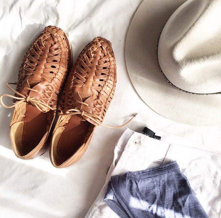 ZIGGY Leather Huarache Sandals