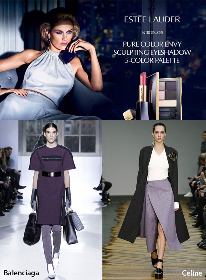 """""""Mauve is the new black"""" for Fall 2014 so the top cosmetic companies like Dior, Estee Lauder, MAC included it to their collections.  English Article http://makigiaz.com/blog/fashion-trend-mauve-is-the-new-black-en/  Greek Article http://makigiaz.com/blog/fashion-trend-mauve-is-the-new-black/"""