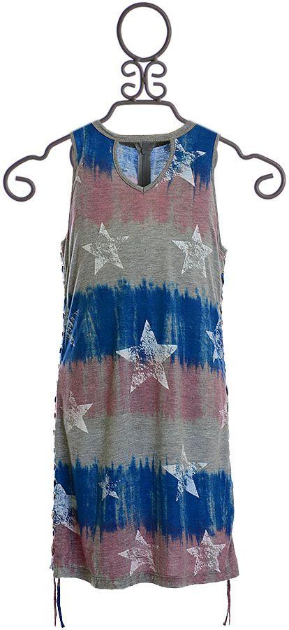 9c495c12aba Flowers by Zoe Tie Dye Stars Dress