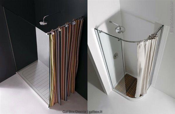 Vantaggi tende doccia | pro e contro tenda per doccia | modelli Gal Box