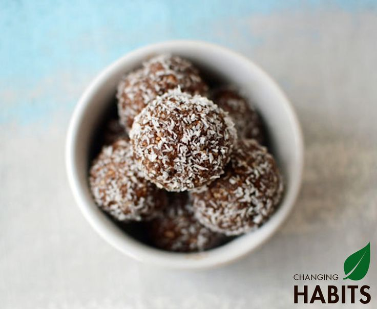 Sweet Coconut Bliss Bites. A delicious and healthy chocolate and coconut protein snack, you will be wanting more!