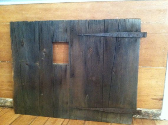 Early 1800u0027s Barn Door And Hand Forged Strap By AdirondackSalvage