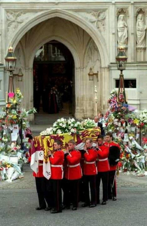 Funeral for Diana, Princess of Wales 9/6/1997. http://www.thefuneralsource.org/publicfunerals.html