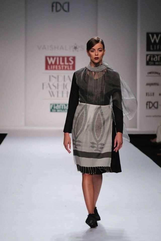 Intricate lace, crochet and sheer work - Vaishali S