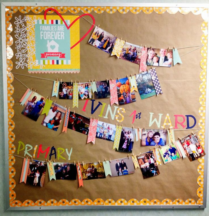 Larcie Bird: Families are Forever {Primary Bulletin Board}