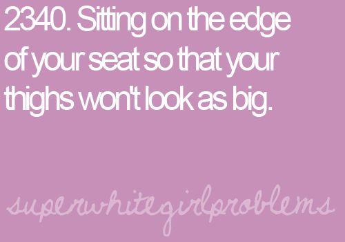 Hahahahaa I do this all the time...