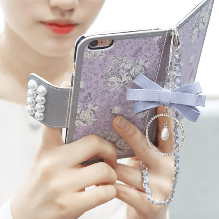 Garden Age Hand Made Wallet Case - Violet