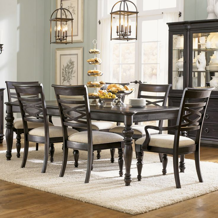 Glen Cove Rectangular Dining Table U0026 Chairs Legacy Classic