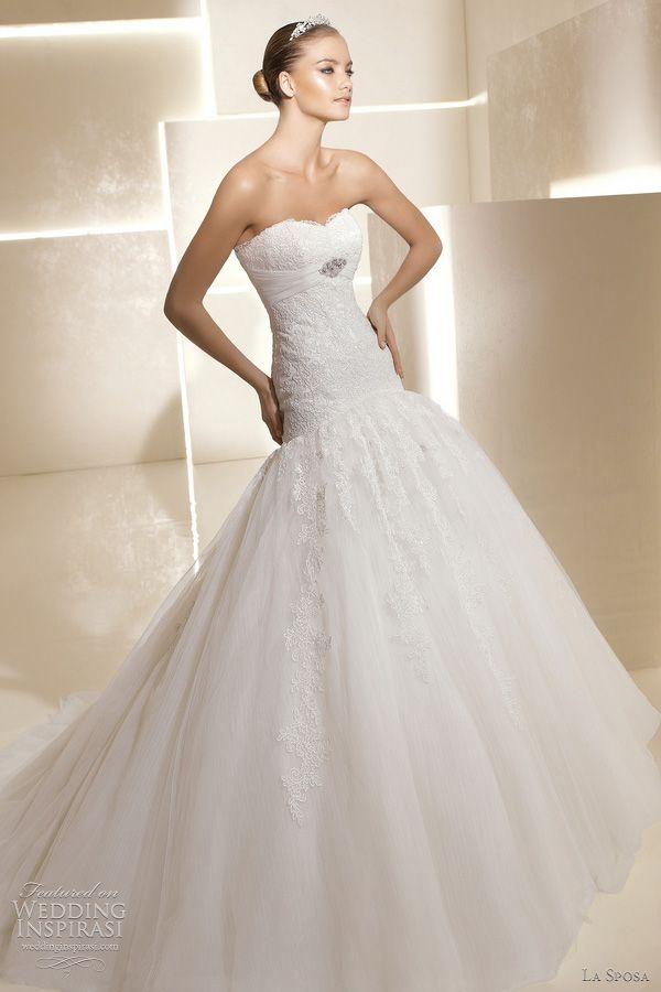 La Sposa Wedding Dresses 2012 — Glamour Bridal Collection | Wedding Inspirasi