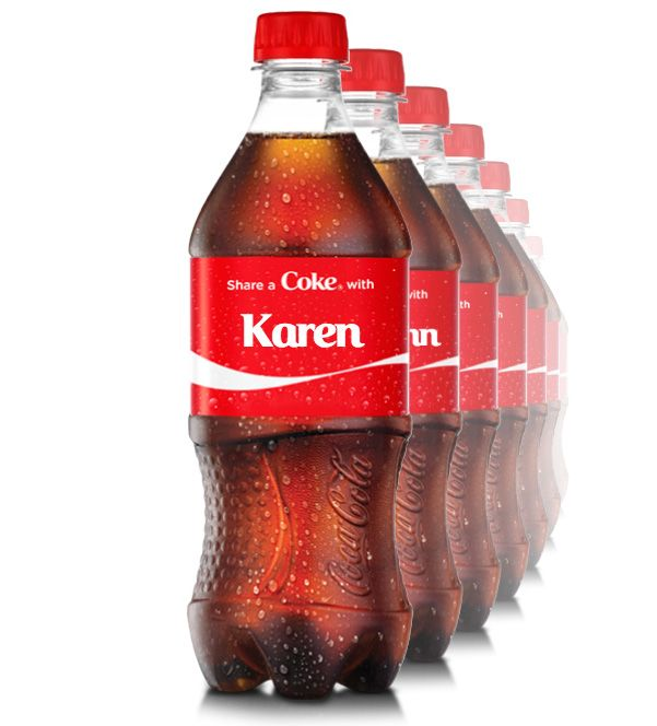 how to get your name on a coke bottle