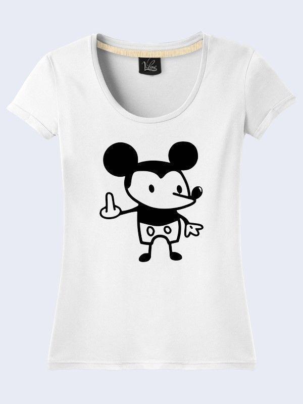 Disney Mickey Mouse Cartoon Novelty White Tee T-Shirt Short Sleeve Size XS-XL #TMVilno #GraphicTee