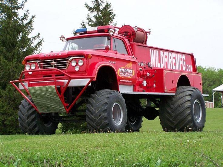 Dodge Fire Truck Agora sim, posso enfrentar a buraqueira  do Brasil!!