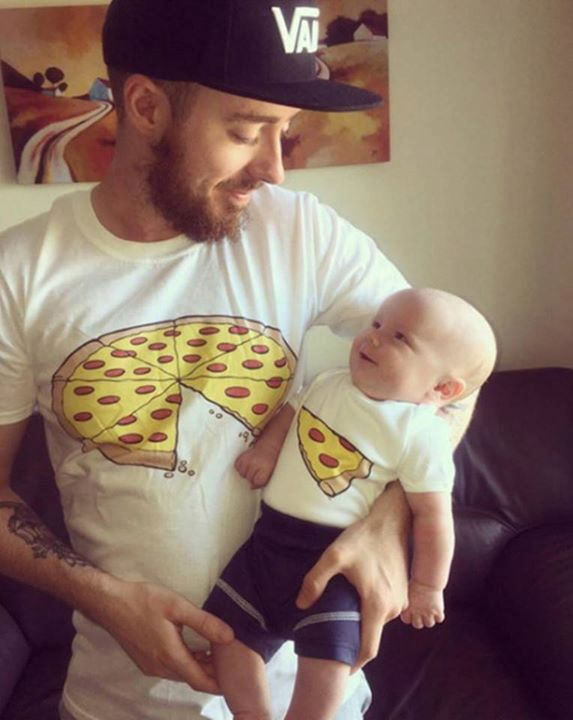 Father and Son Pizza !