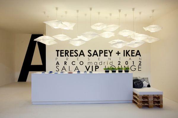 2 IKEA ARCO sala VIP por Teresa Sapey  recepción