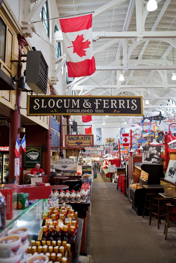 Step inside the oldest market in North America for a true treat for the senses. The Saint John City Market is just a short walk from your ship. | Cruise excursions in New Brunswick, Canada