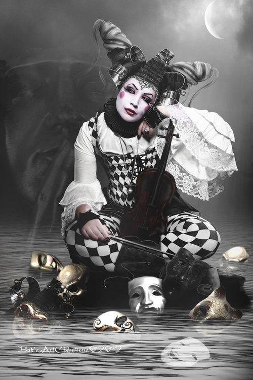 Night Circus Harlequin! www.neworleanswitchesball.com