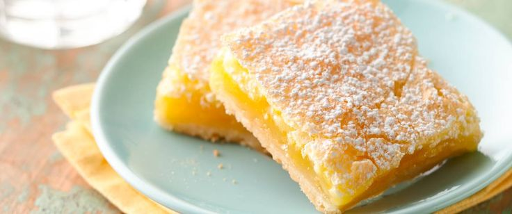 Everyone loves homemade lemon squares!  These refreshing sweet and lightly tart lemon squares are Betty's Best.