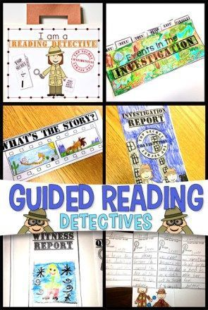 Guided Reading Super Sleuths   Guided Reading   Second Grade   Language Arts   Simply Skilled in Second   #teachingresources #2ndgrade #guidedreading