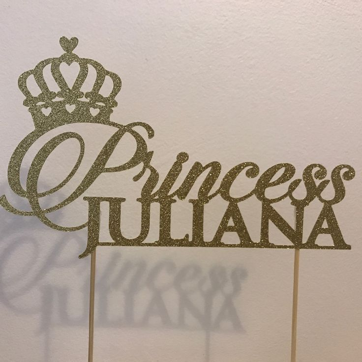 Princess cake topper now available!!
