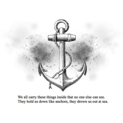 I LOVE THIS!: Tattoo Ideas, Life, Inspiration, Things Inside, Sea, Anchors Quotes, Anchors Tattoo, Drown, Ink
