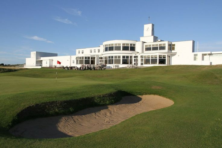 Art Deco - Royal Birkdale Golf Club, Southport, Merseyside, England.