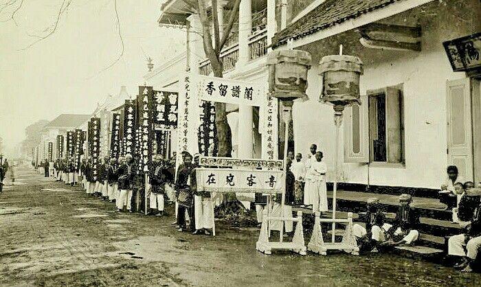 Pemakaman Warga Tionghoa di Tepekong Surabaya 1900