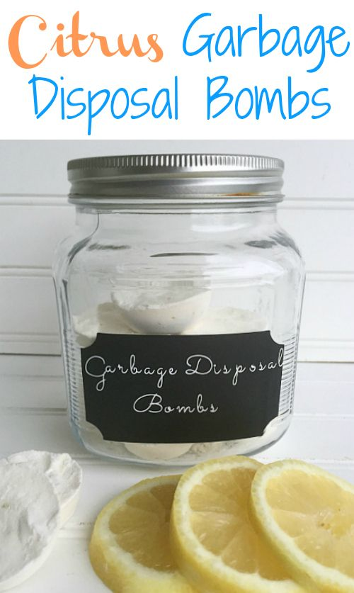 Hate when the garbage disposal smells bad. Super easy way to freshen it up!