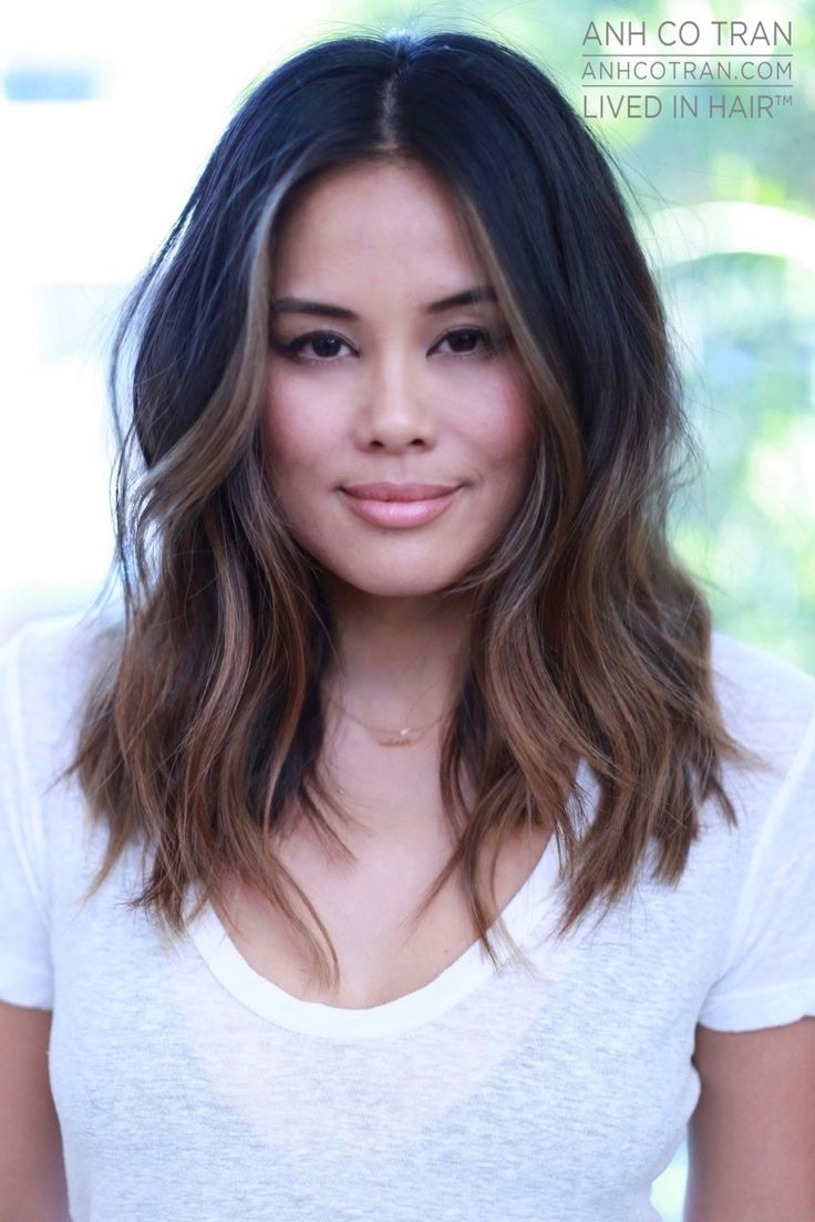 mid length hair ideas