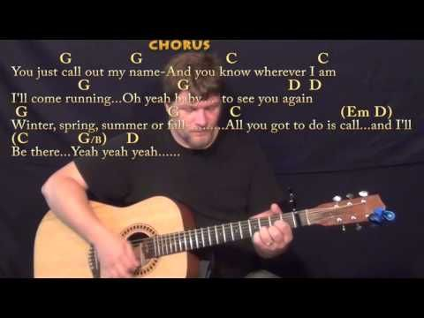 You've Got A Friend (Carole King) Strum Guitar Cover Lesson with Chords/Lyrics - YouTube