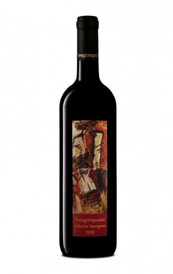 ''PANAGIOTOPOULOS'' Cabernet Sauvignon 12 Red Dry Wine 500ml