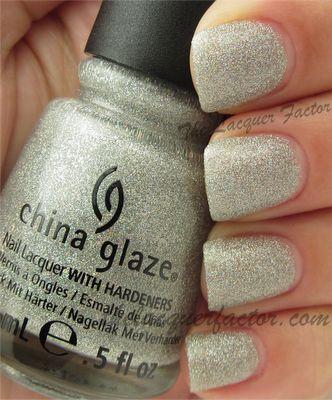 @China Glaze Glistening Snow