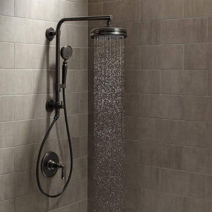 View The Kohler Artifacts Hydrorail Custom Shower System Artifacts Hydrorail Shower Package With Single Function