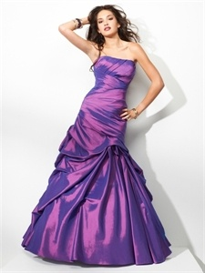Purple Mermaid Prom Dress, Long Purple Evening Gowns, Dresses For Prom