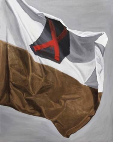 "Saatchi Art Artist sebastian sleczka; Painting, ""Flag"" #art"