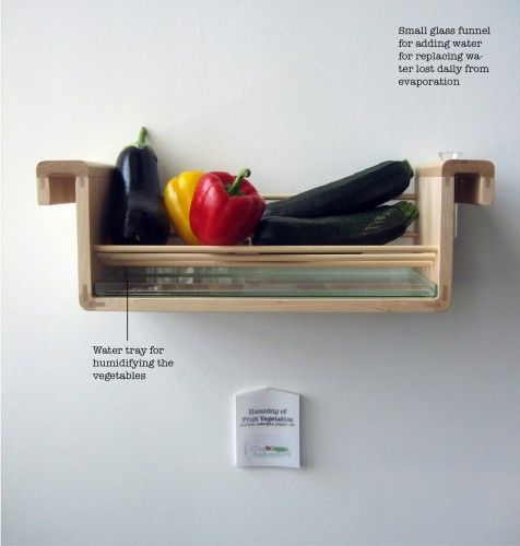 Saving food from the fridge - Food storage fruit and vegetables