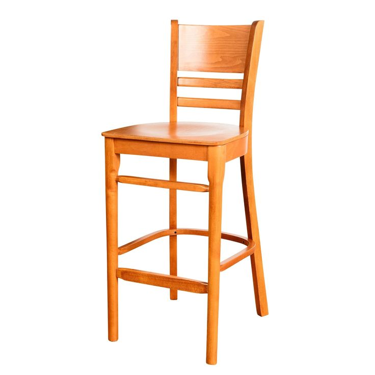 42-inch Solid Beech Wood Cafe Barstool (Cafe Barstool