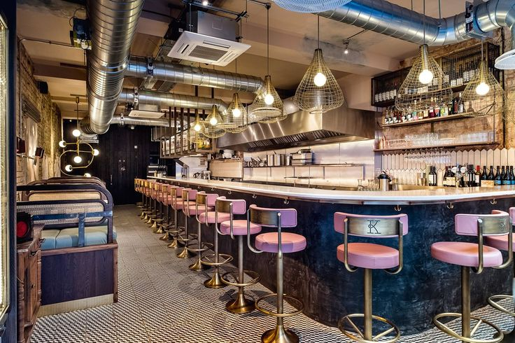 Kricket restaurant, lava bar top by Pyrolave UK