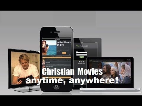 "Christian Movies & ""christian movie reviews"" Parables TV Network, a 24/7 Christian movie channel that will connect viewers with the best in inspirational entertainment anytime, anywhere! http://parables.tv IT""S FAITH FAMILY & FUN ! Parables TV was developed to provide Christian families with an alternative to traditional network television. Our programs are thought provoking, uplifting and will inspire discussion about topics that are important to your faith. #christianmovies"