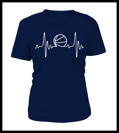 Basketball Heartbeat Shirt (*Partner Link)