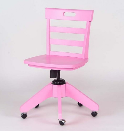 1st Floor / Teacher's Desk Chair, In The Montaigne Day Care Boys And Girls Play Kitchen / Pink Desk Chair