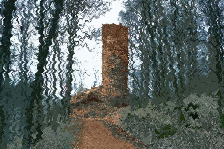 the tower of merlin by Jürgen Cordt