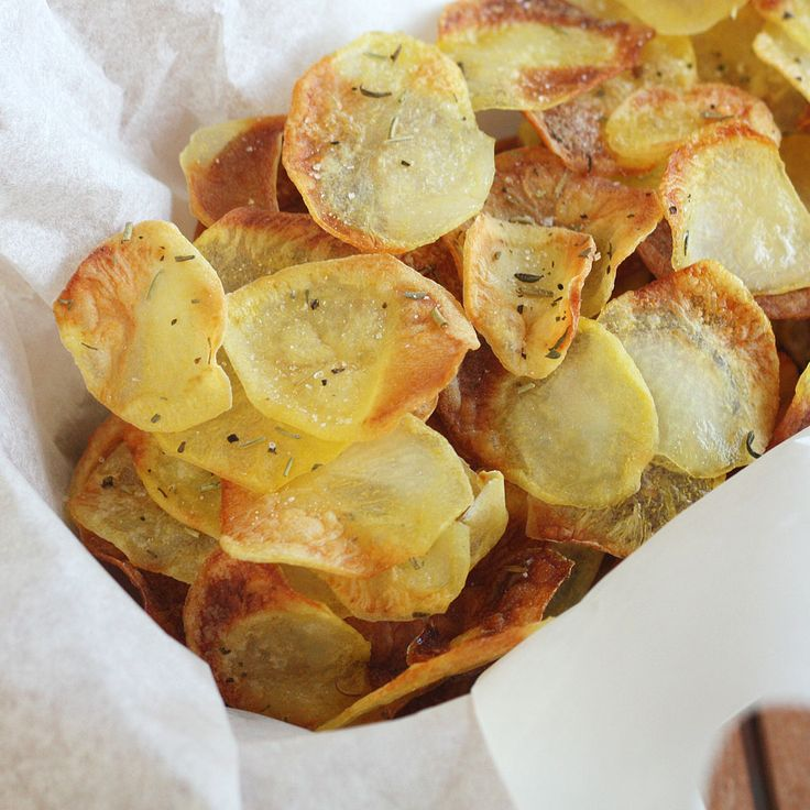 Irresistible Baked Potato Chips
