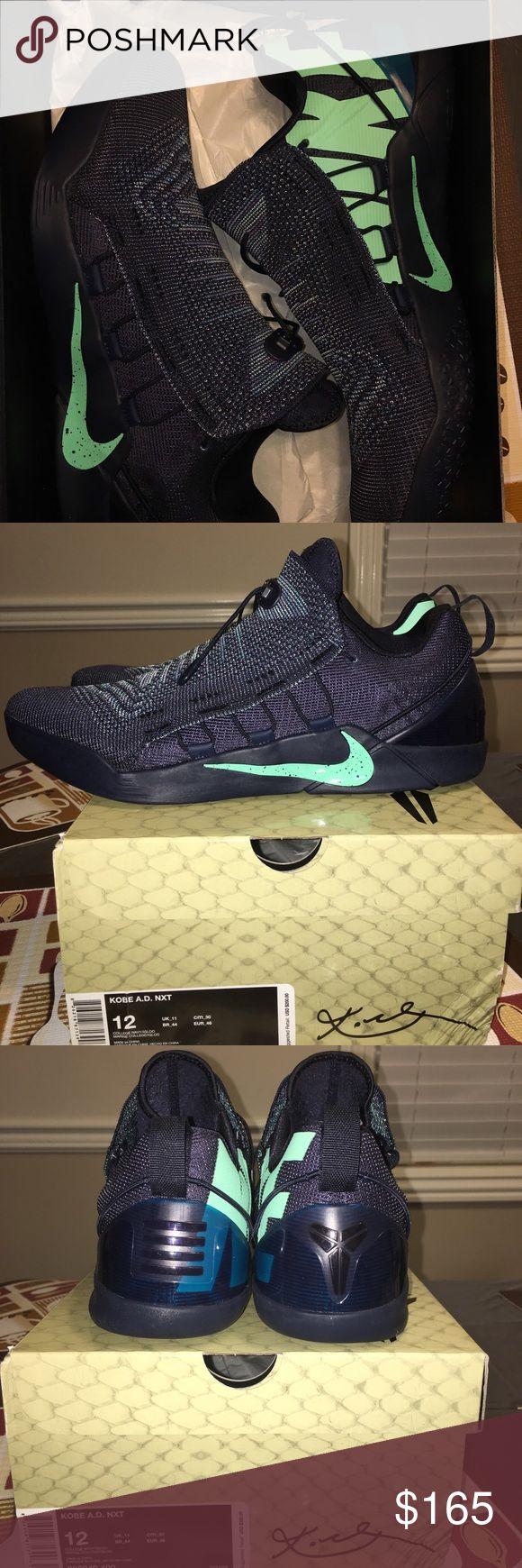 Nike Kobe AD NXT Mambacurial Kobe Bryant Size 12 Nike Kobe AD NXT Mambacurial College Navy Size 12 Mamba Kobe Bryant Basketball Sneakers NEW IN BOX RETAIL $230 Nike Shoes Sneakers