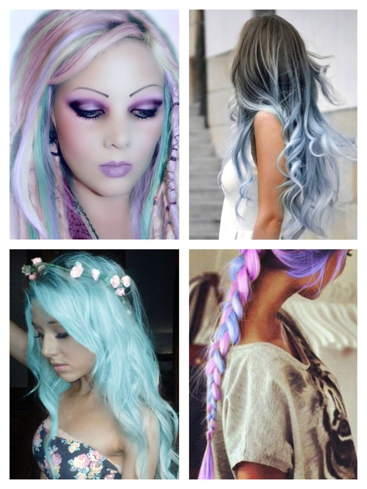33 best images about Creative hair colors on Pinterest