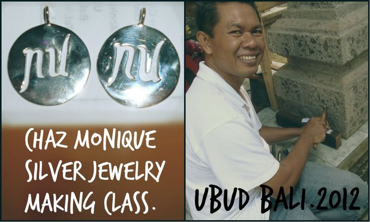 Jewellery making in Ubud Bali.