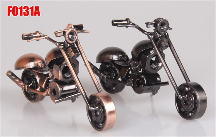 2015 New best selling Christmas gifts, wrought iron crafts iron motorcycle model craft ideas free shipping #00-in Metal Crafts from Home & Garden on Aliexpress.com | Alibaba Group