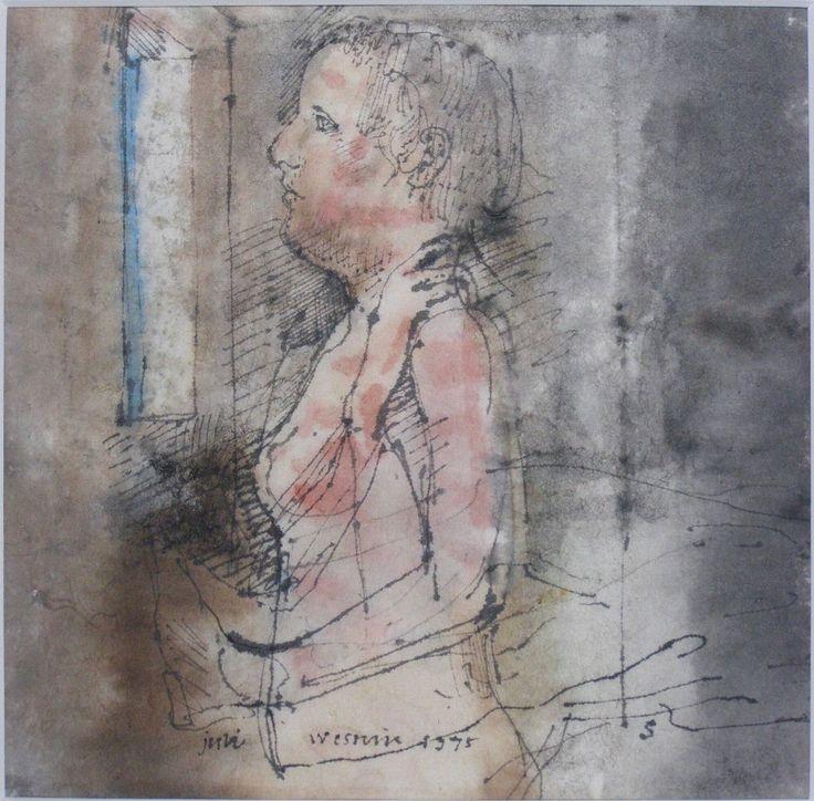 Meisje voor raam, Co Westerik, 1975 | Museum Boijmans Van Beuningen