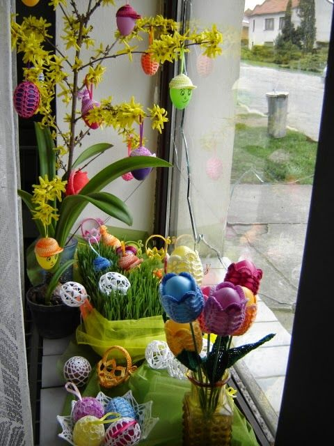 crochet knit unlimited: Crochet for Easter: nice and easy free pattern