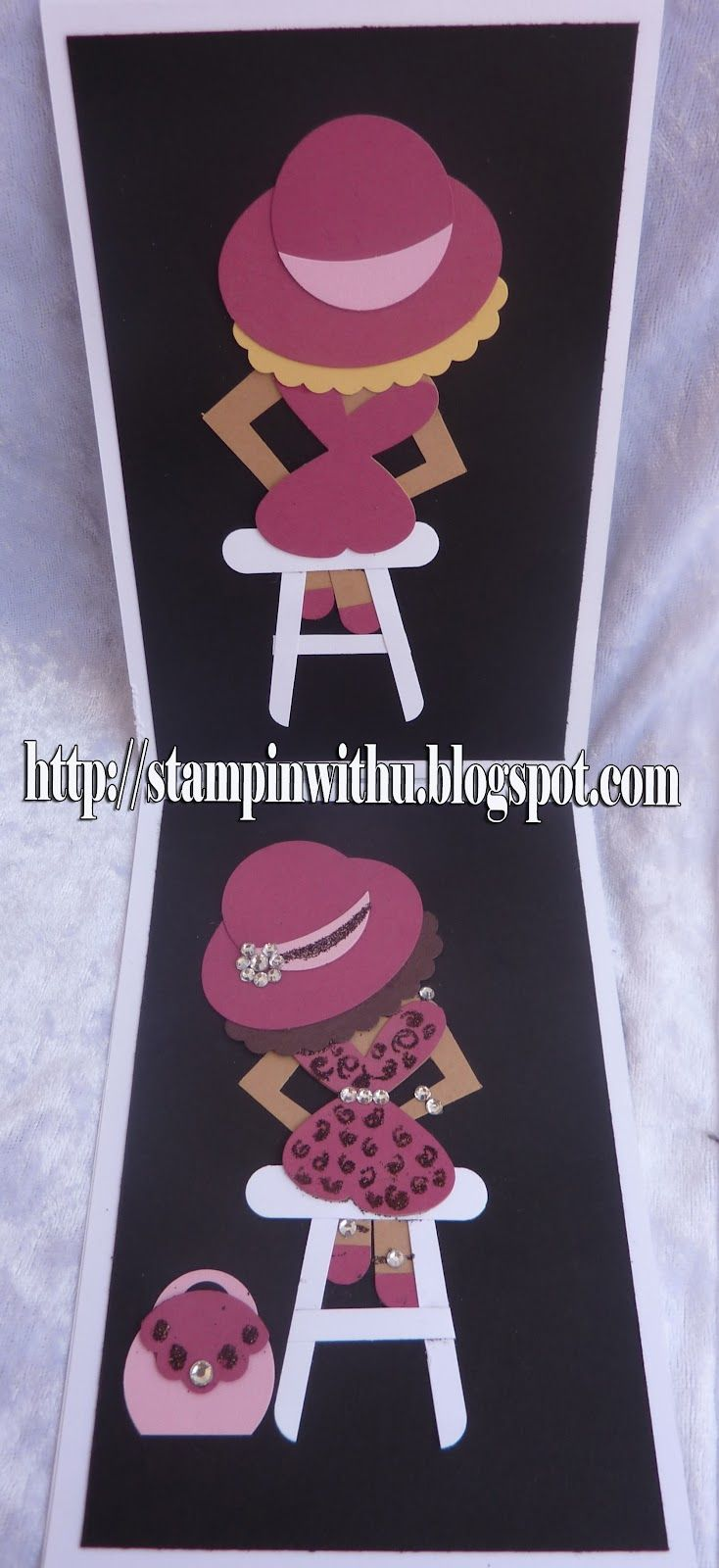 Stampin' with U: Punch Art Lady